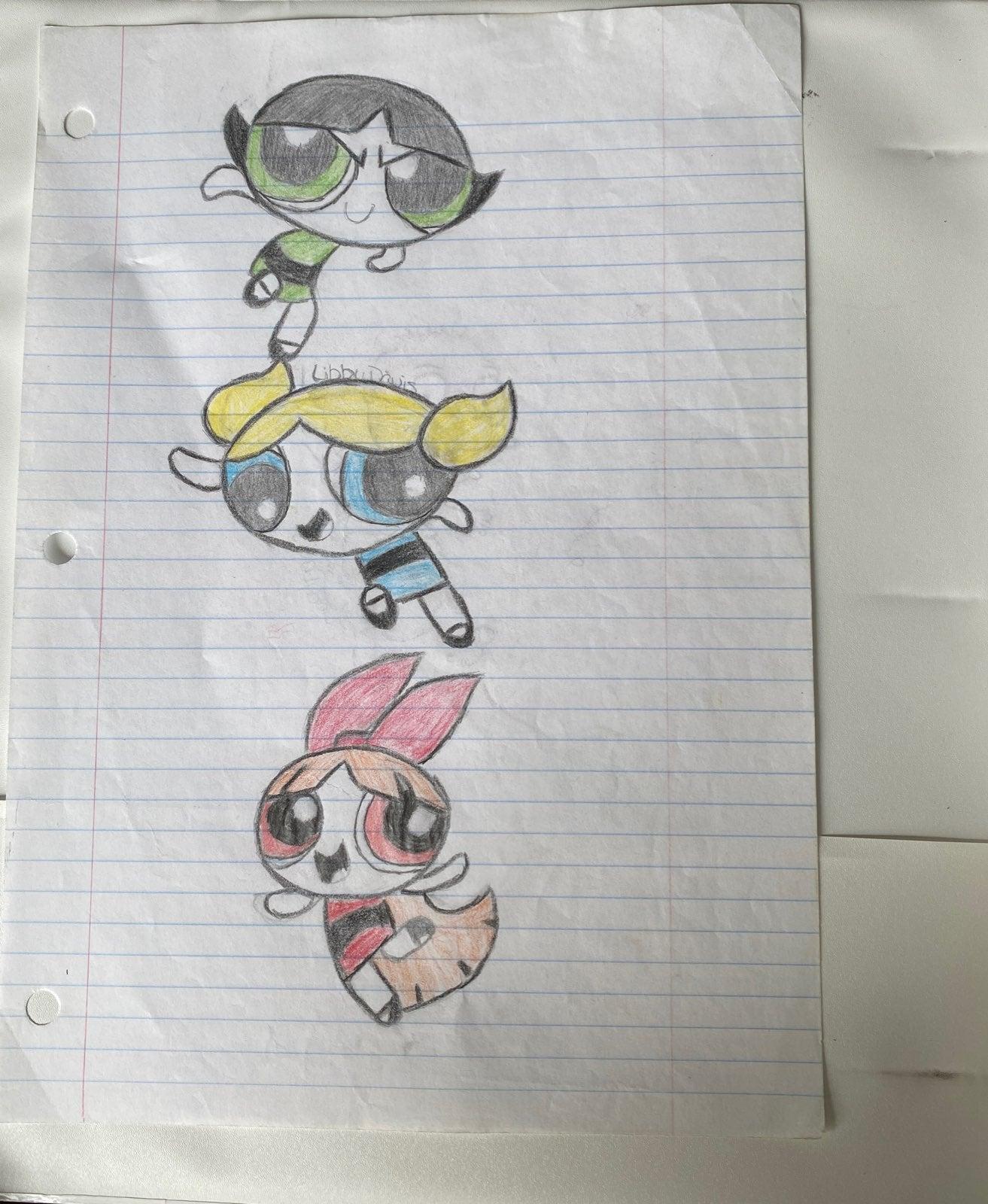 PowerPuff Girls Drawing
