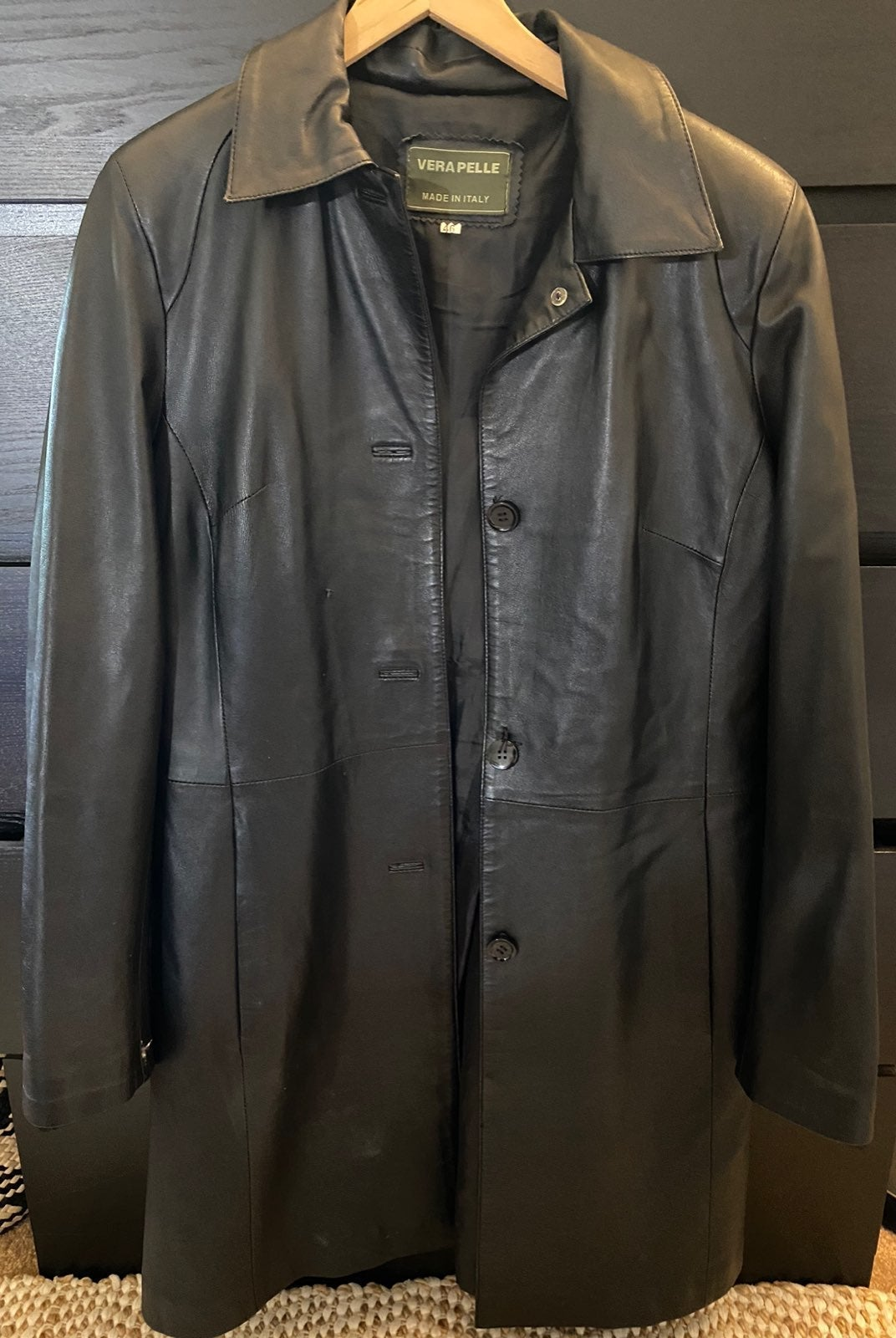 Vera pelle leather jacket women