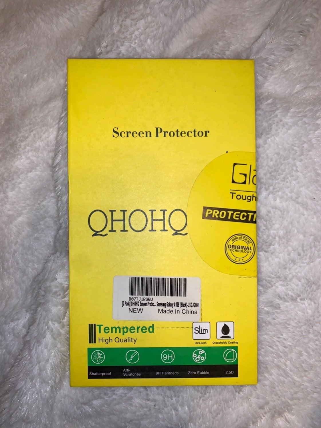 Samsung Galaxy A10E screenprotector