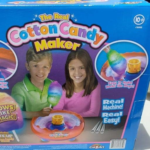 Crazart cotton candy machine