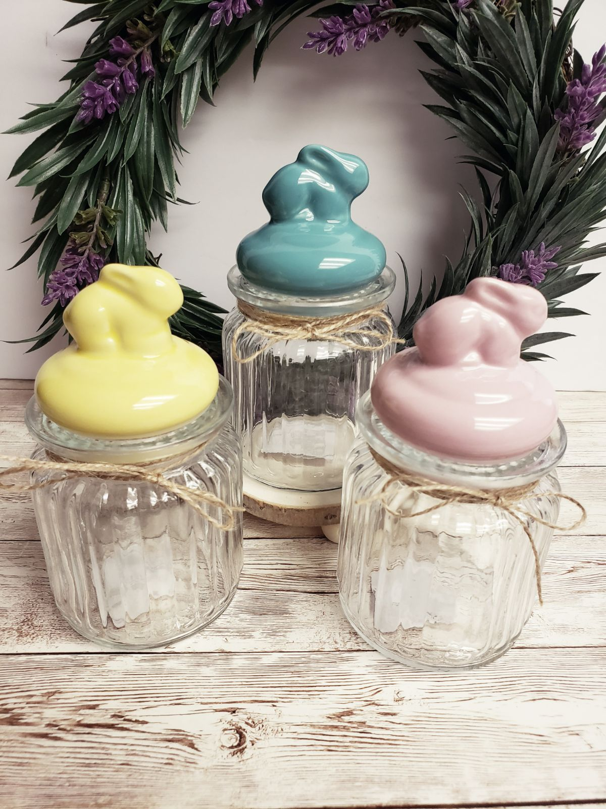 Bunny Candy Jars