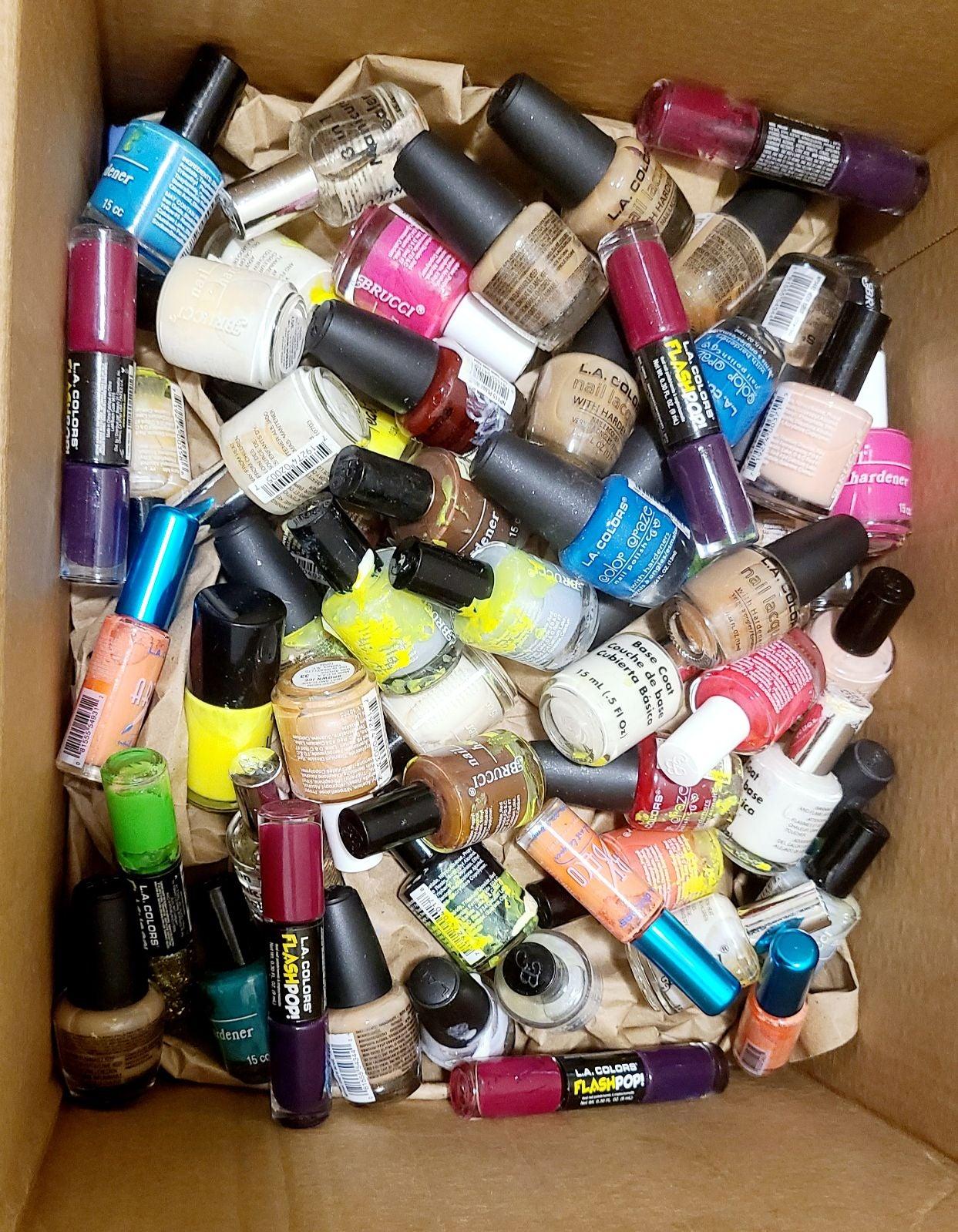 50 bundle Nail Polish With Hardeners