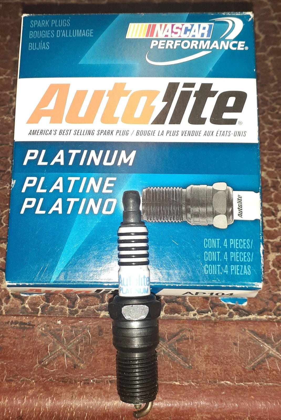 5 Autolite Platinum Spark Plugs (AP104)
