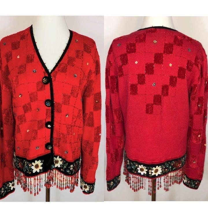 BEREK Not So UGLY CHRISTMAS Sweater Med