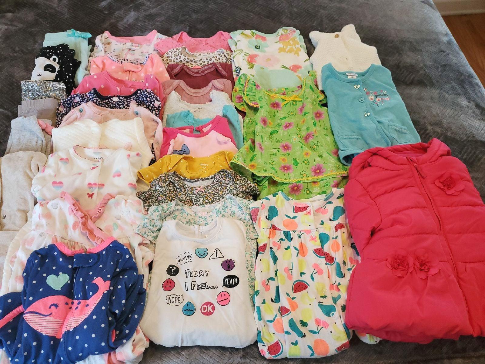 Infant Girls Bundle/3-24mon/33pcs.