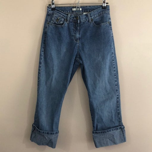 Crazyhorse Cropped Jeans