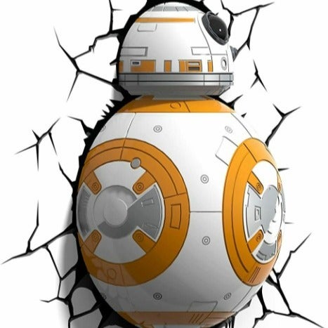 Disney Star Wars Droid Bedroom Deco BB8