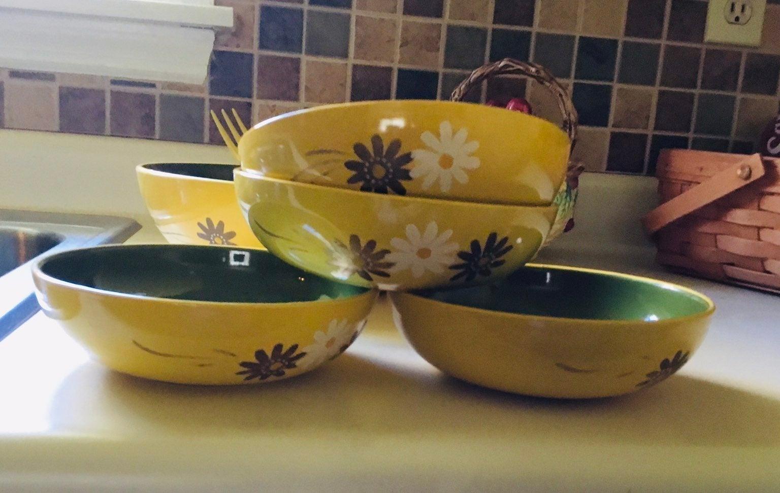 Vintage Rossini Salad Set