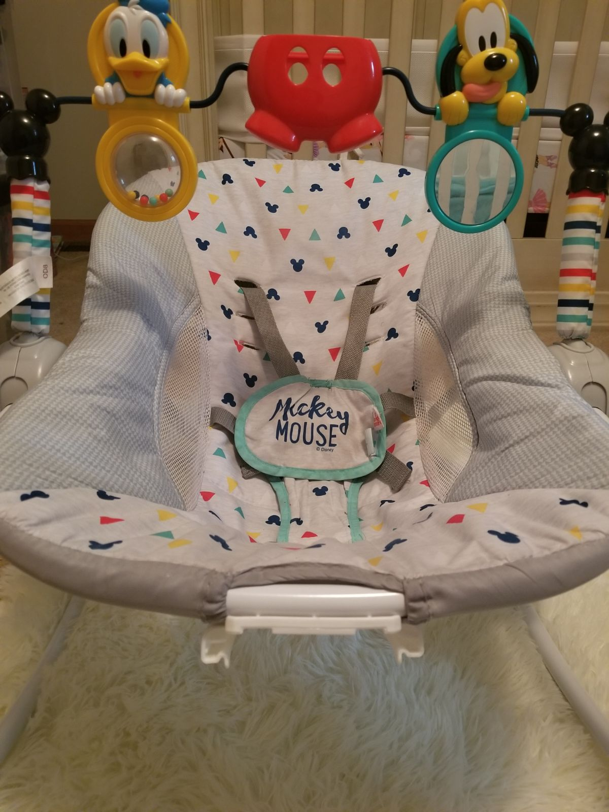 Mickey mouse infant seat
