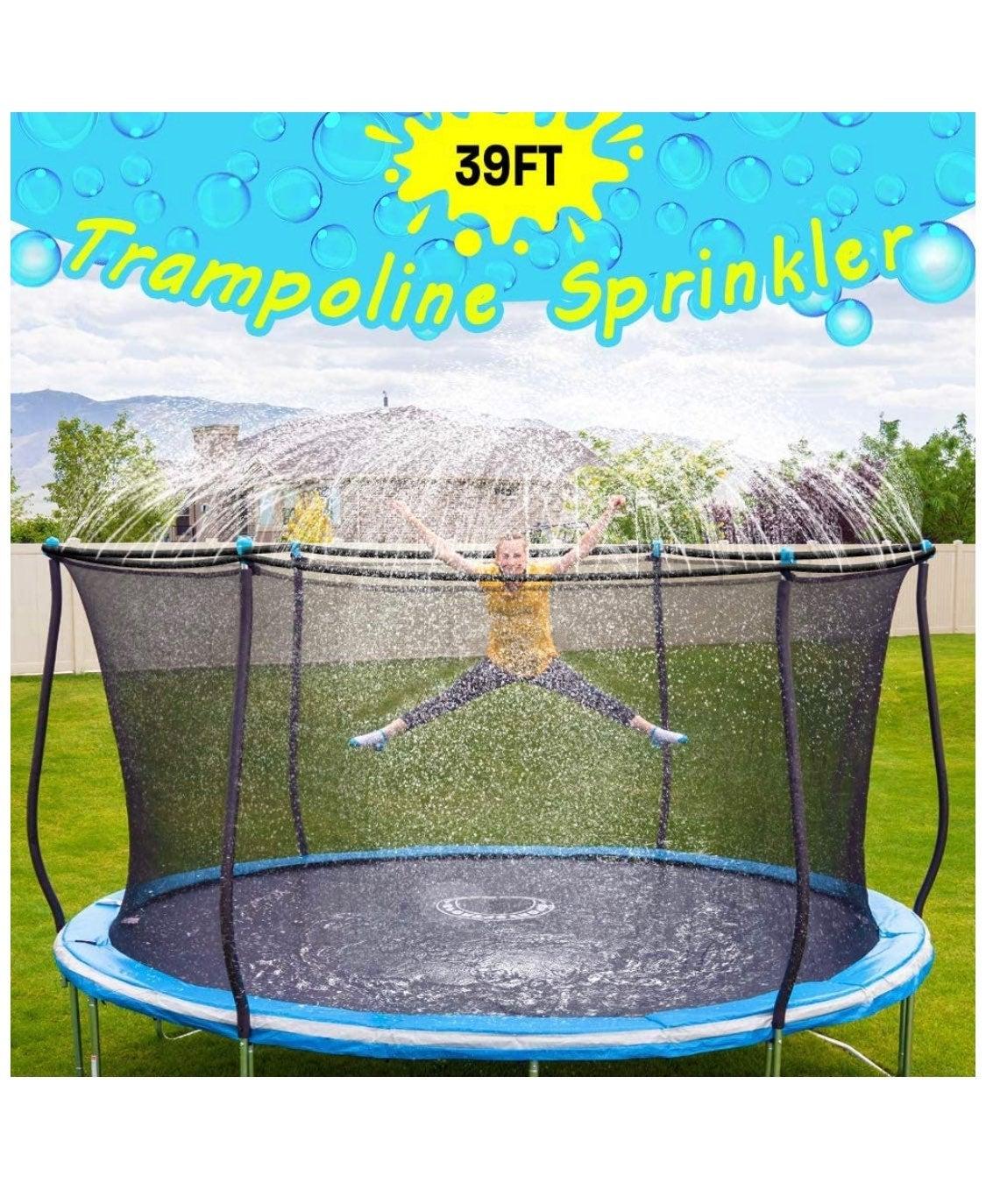 Trampoline Sprinkle For Kids Outdoor