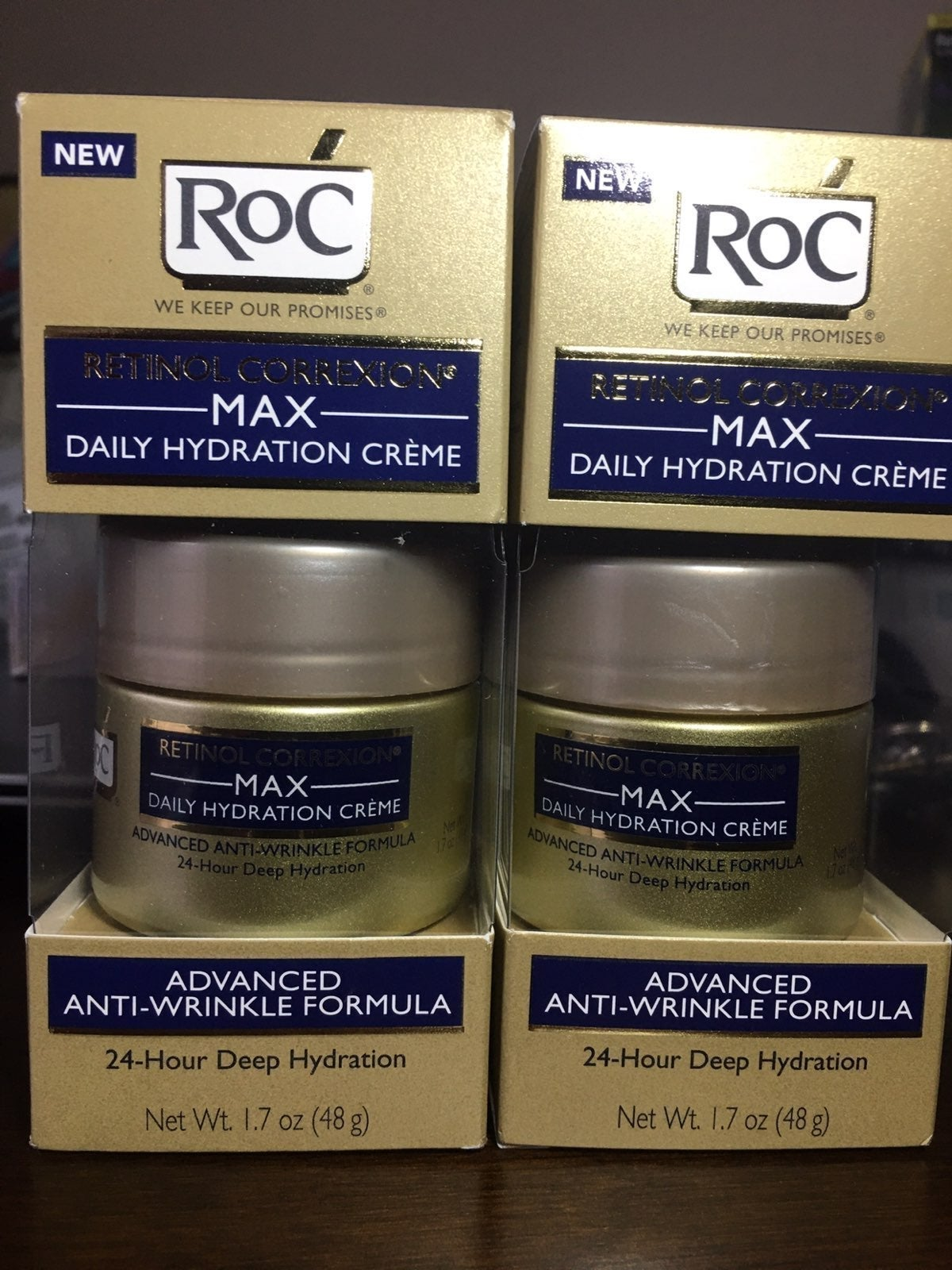 Roc max daily hydeation creme