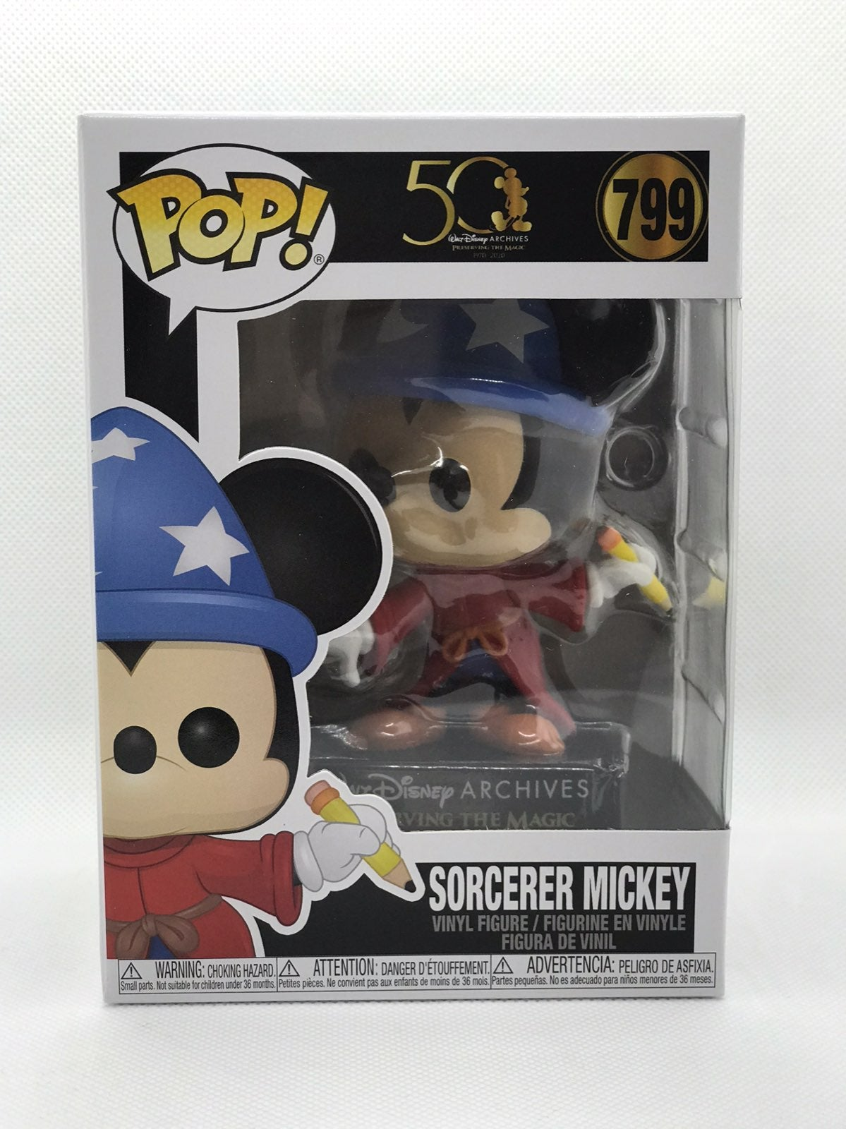 Funko Pop Disney Archives Sorcerer Micke