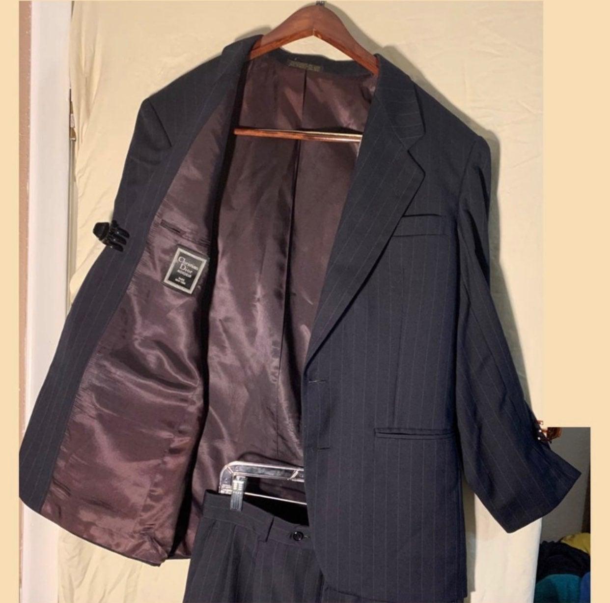 Dior Monsieur Men's Wool Suit - Sz 40R