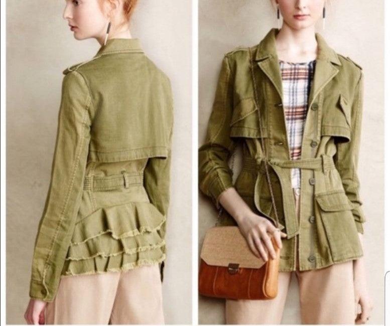 Hei Hei Military Style Jacket sz XS