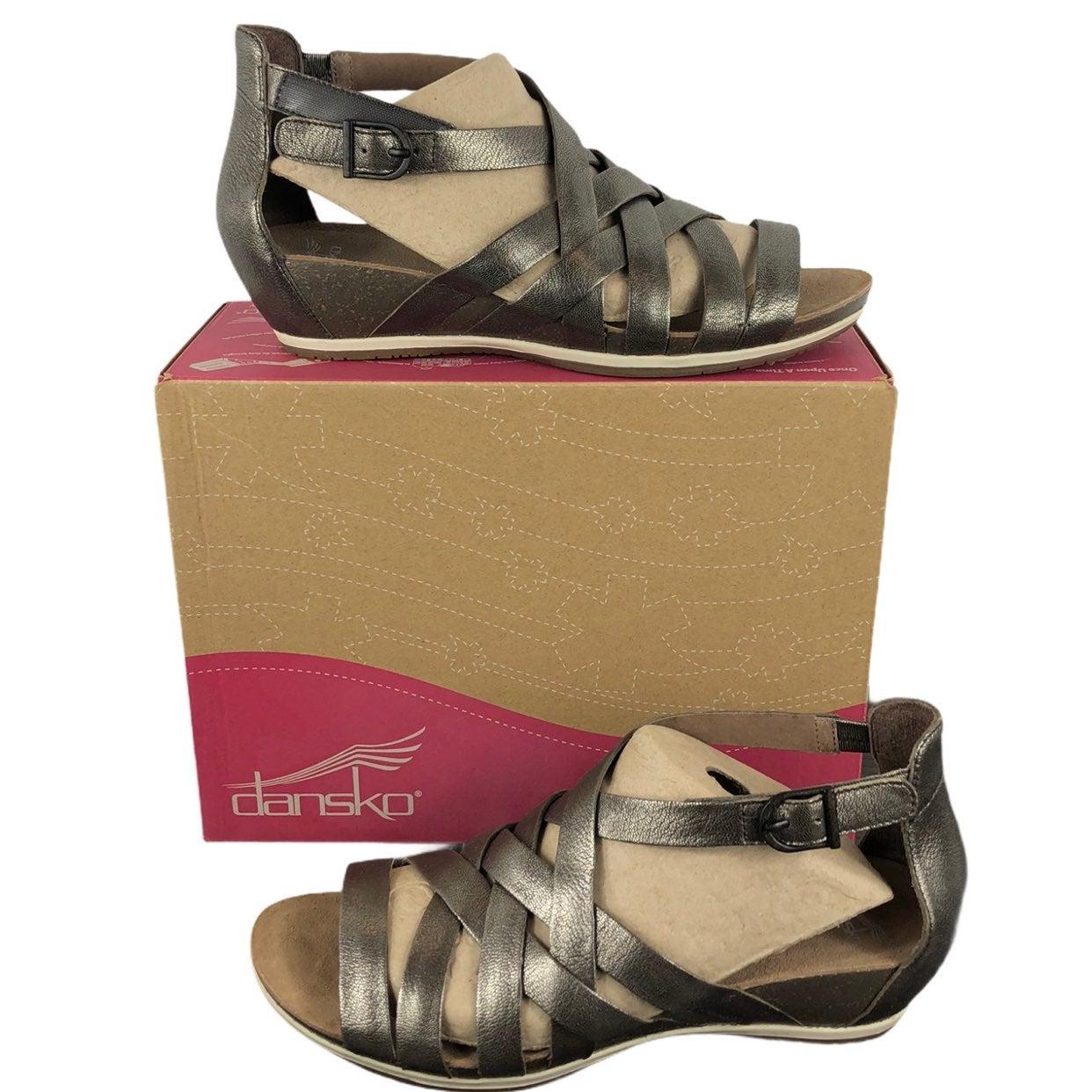 NEW Dansko Vivian Nappa Strappy Sandals