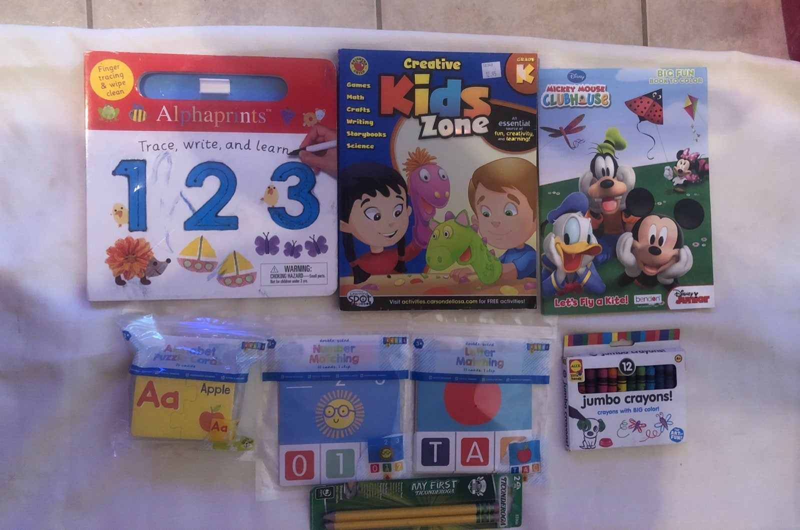 Learning and activity bundle for kids