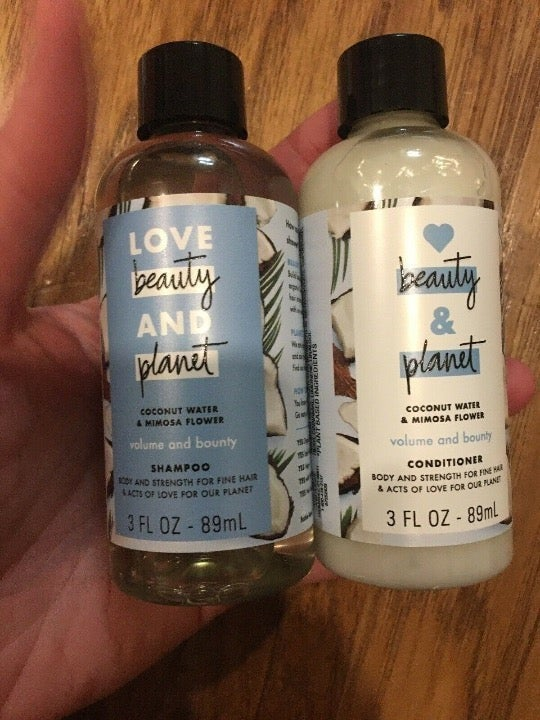 Love Beauty & Planet Haircare Bundle