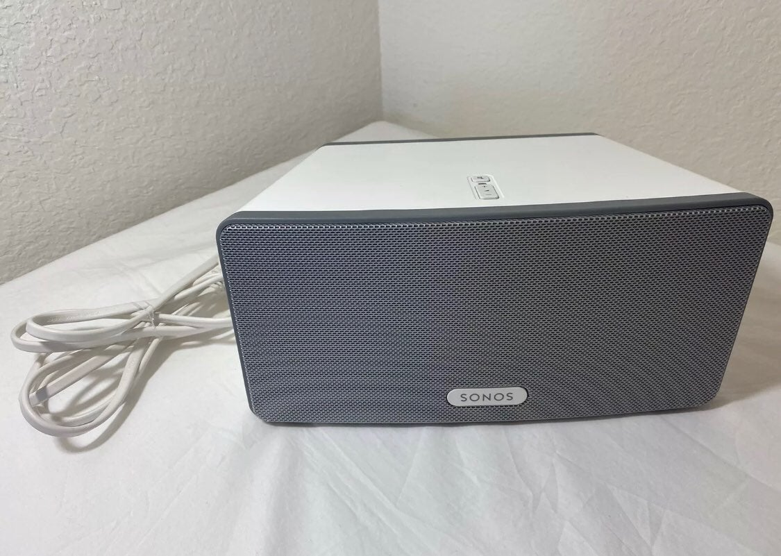 Sonos, PLAY:3, White, Wireless Speaker