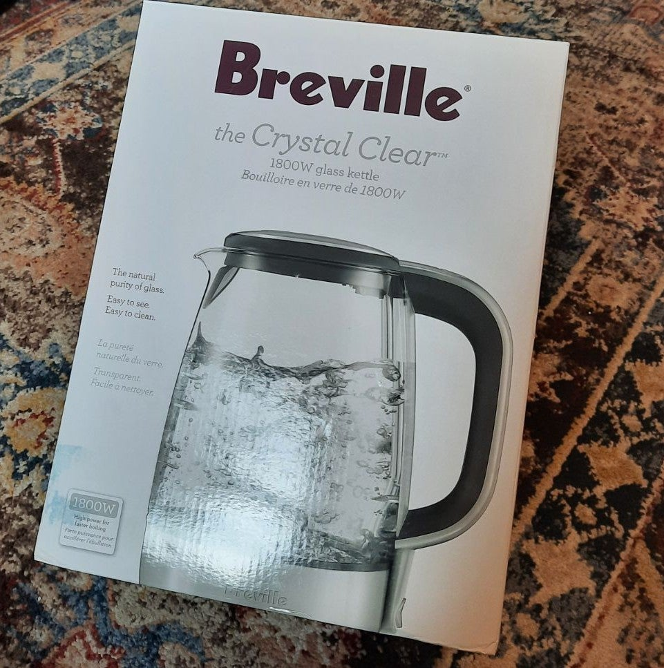 Breville Crystal Clear Glass Kettle
