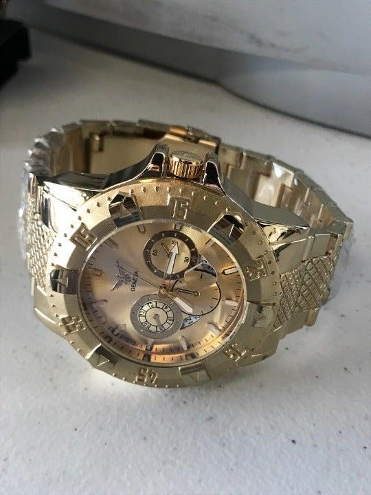 Geneva Automatic Goldtone Men Watch