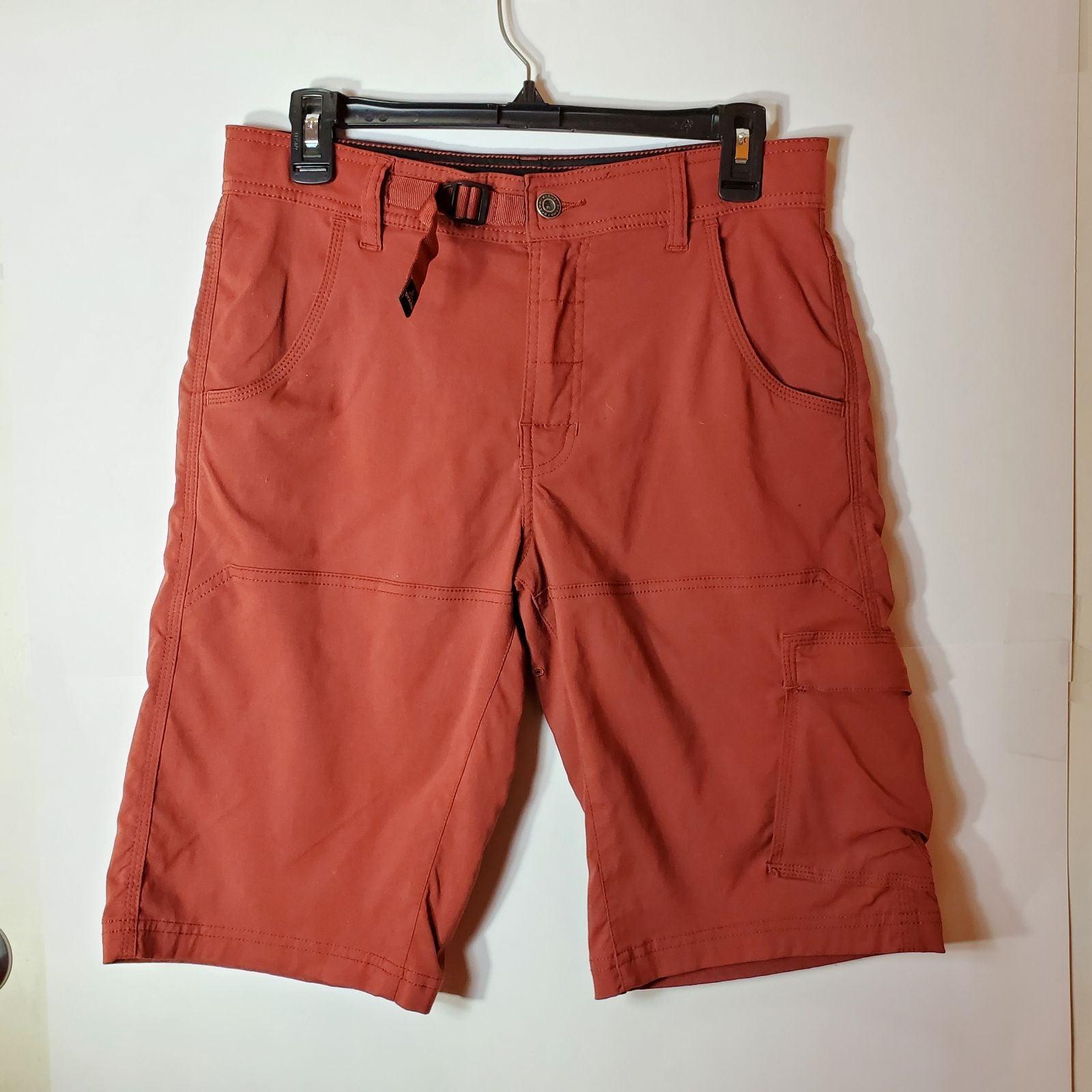 Prana Cargo Shorts RED