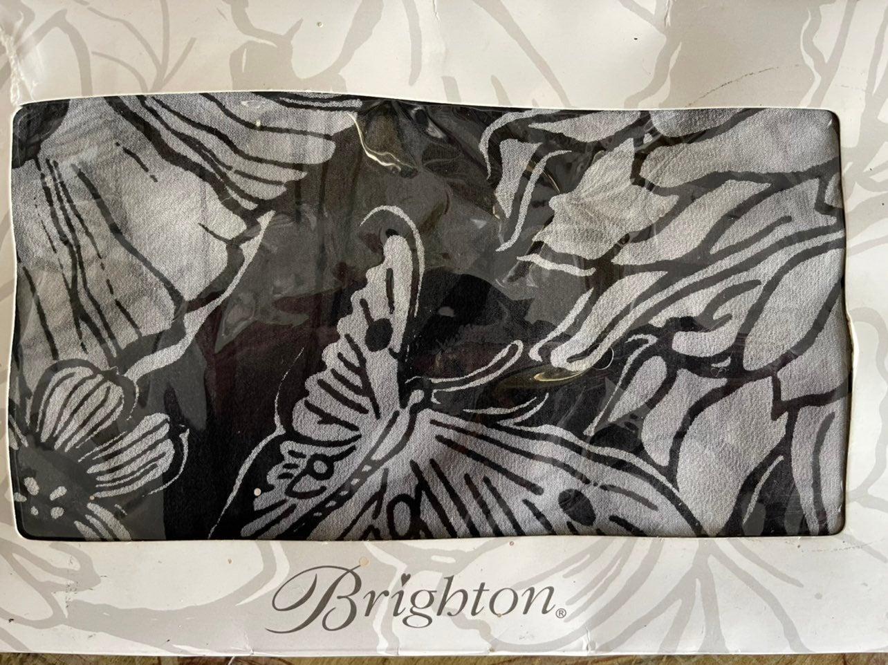 Brighton Silk Butterfy Lmt Edition Scarf