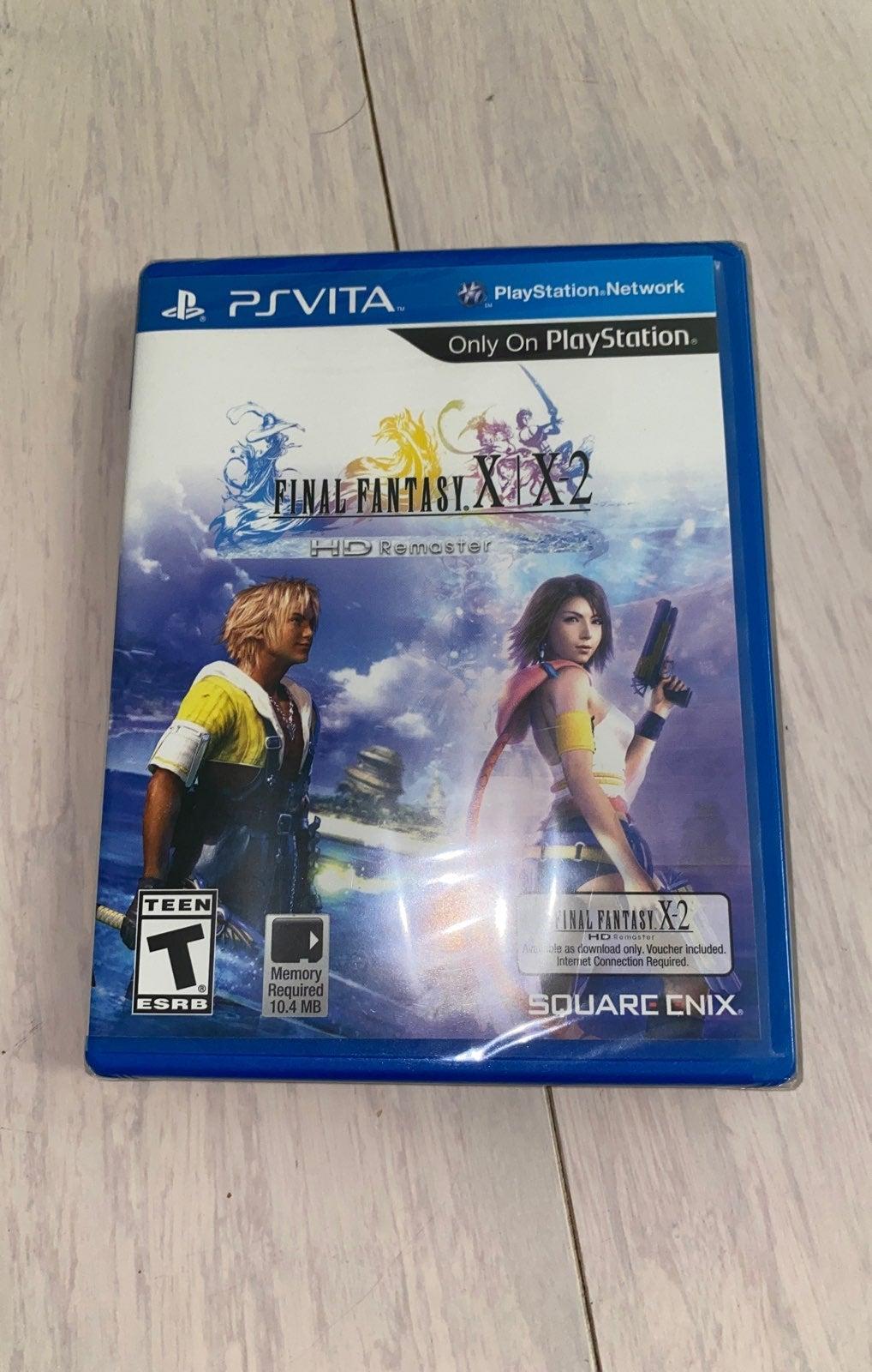PS Vita final fanstay x &x2 NEW