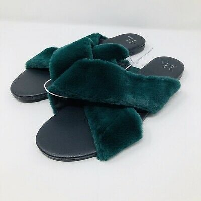 NWT Crossband Slippers Slide Sandals-6