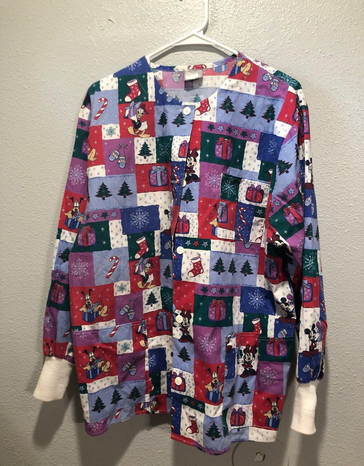 Disney Medium scrub jacket