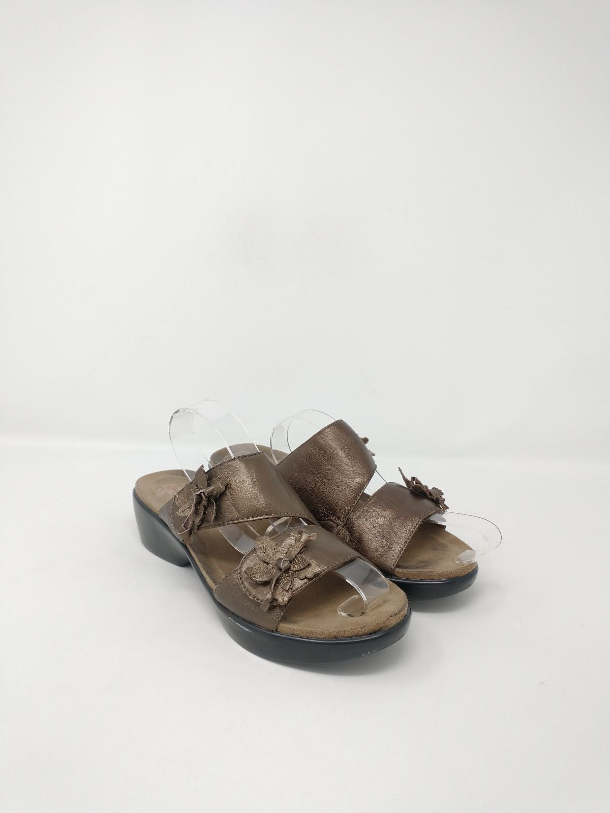 Dansko Bronze Leather Sandals EU 38