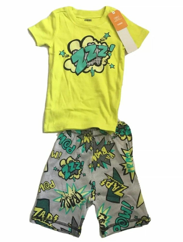 2 Pc Gymboree Pajamas Set, Boys Size 3