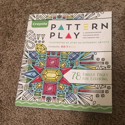 Crayola Pattern Play Adult Coloring Book