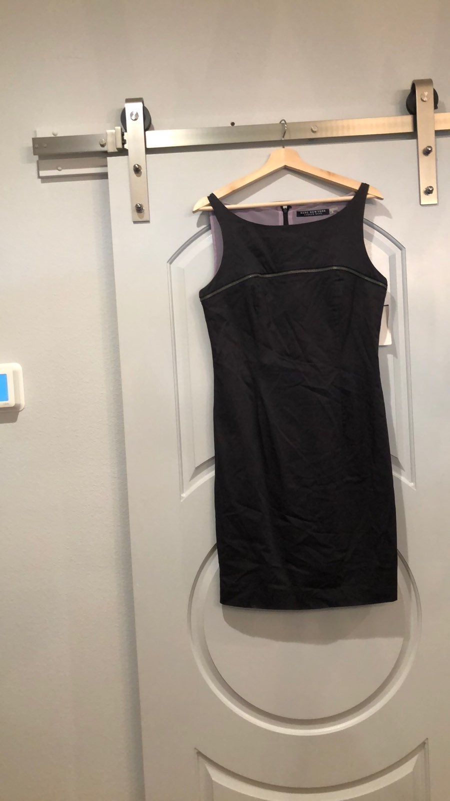 Marc New York zippered sheath dress.