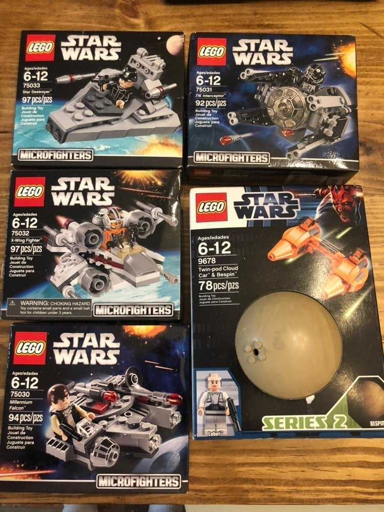 Lego Star Wars Micro Fighters lot