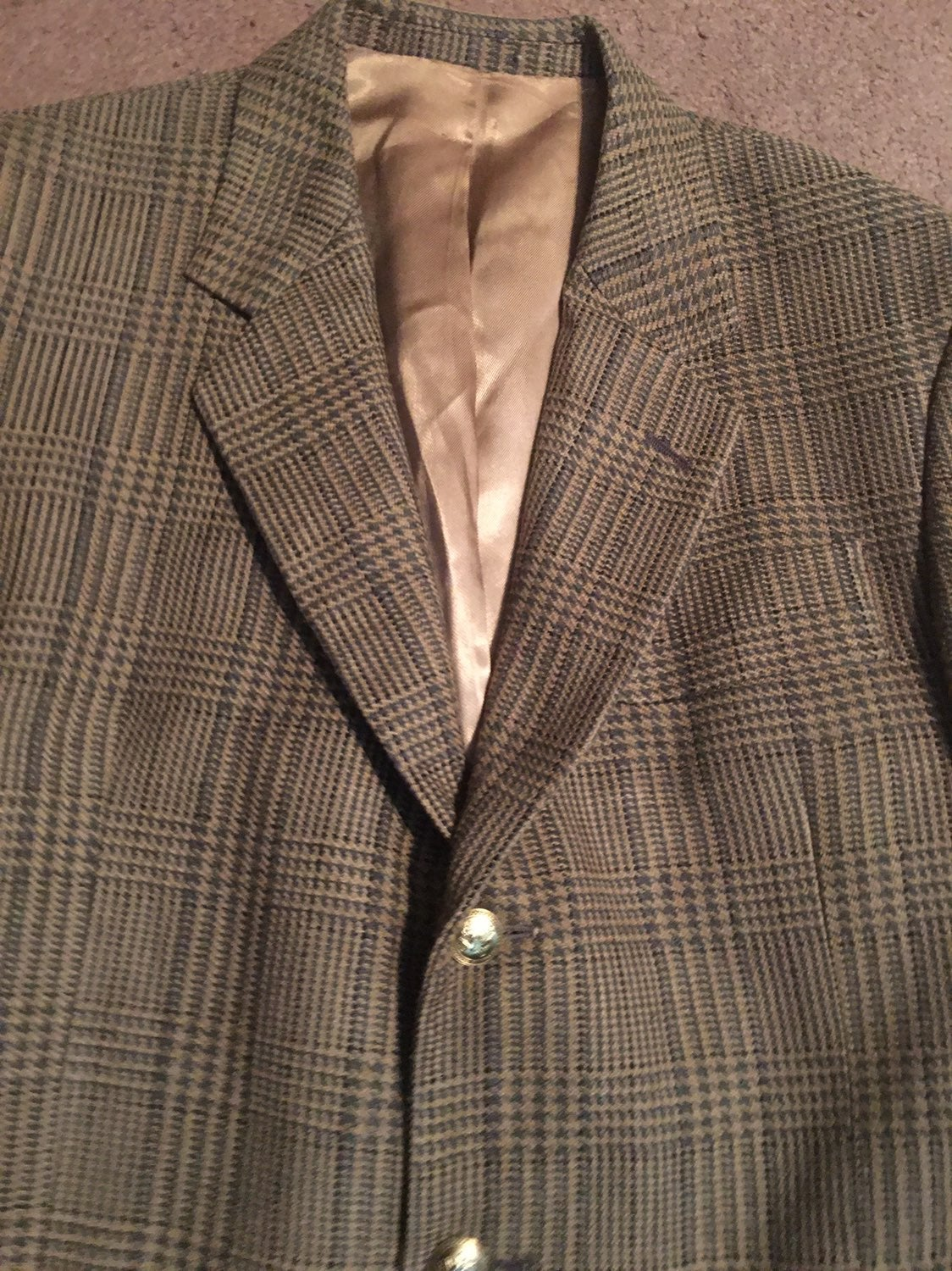 40L SAVILE ROW 3button wool sport jacket