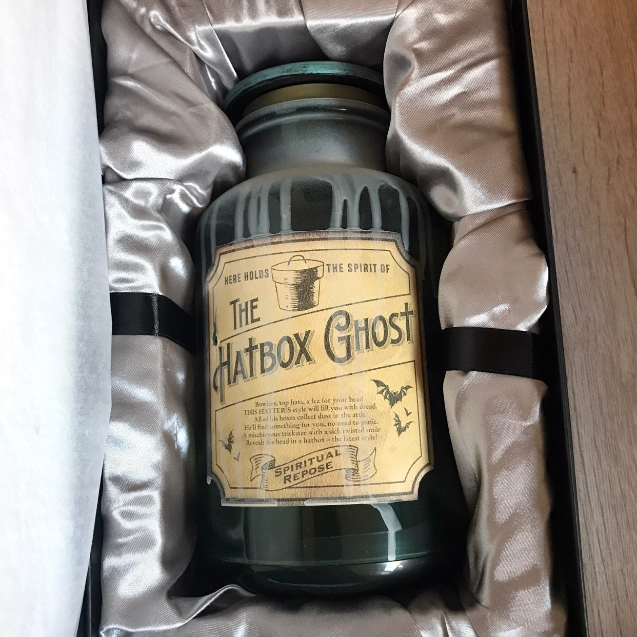 Hat Box Ghost Spirit Jar