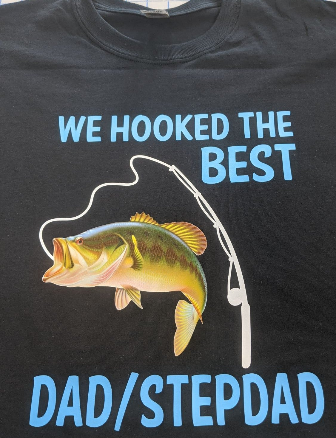 Fishing father's day shirt
