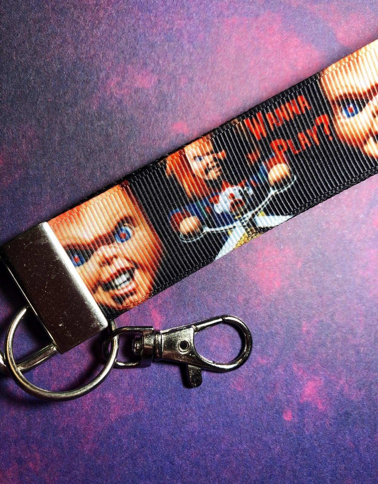 Chucky Child's Play Movie Key Ring Fob