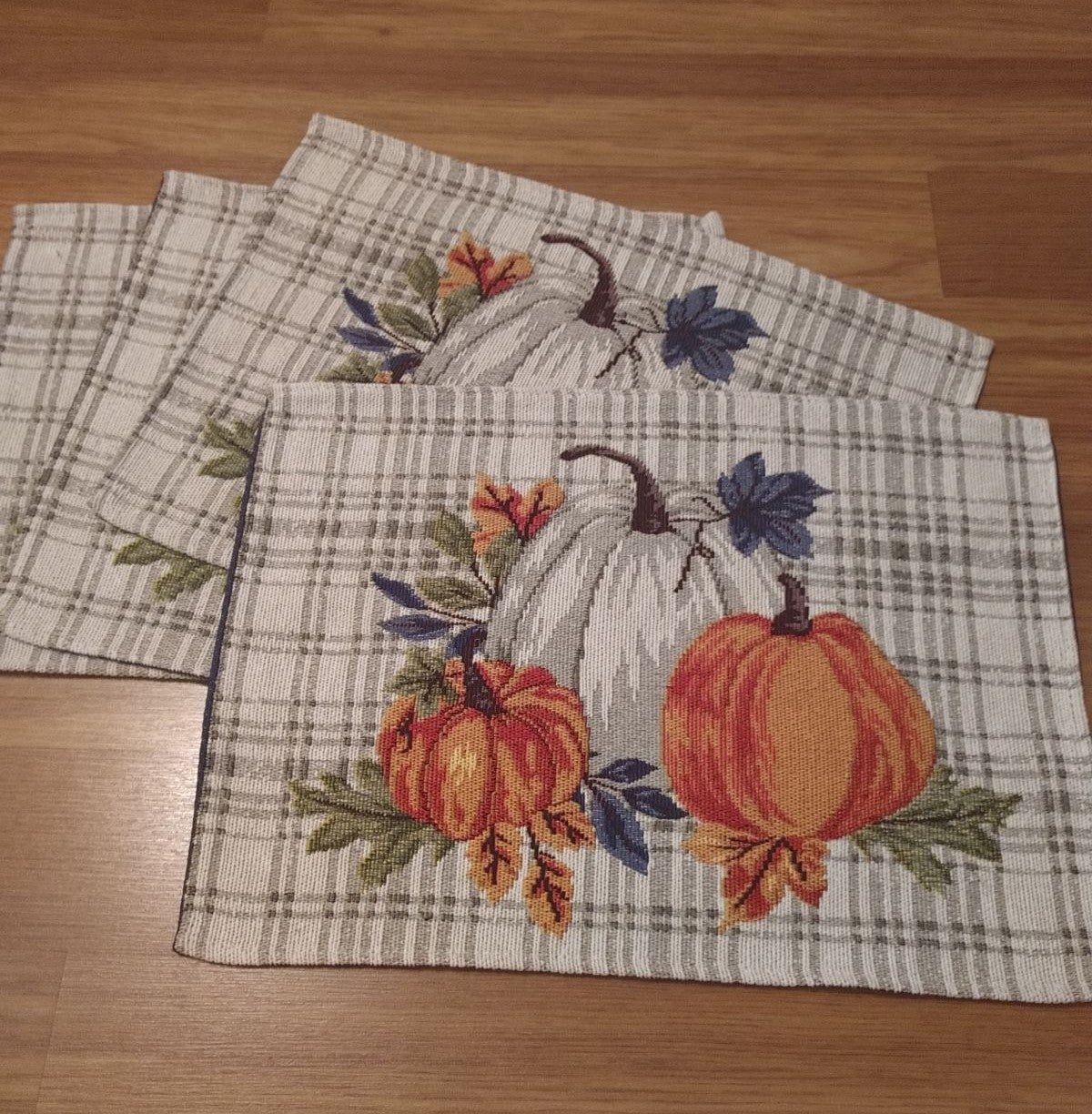 Farmhouse Fall Tapestry Placemats