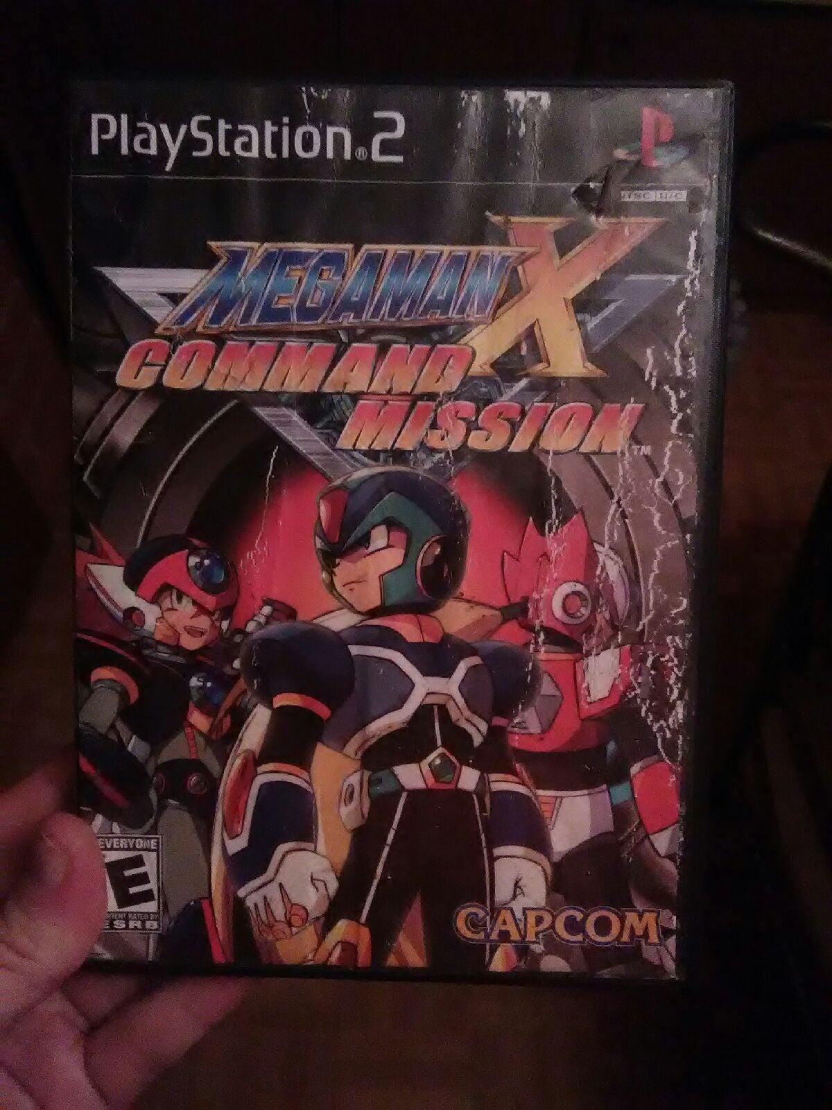 MEGA MAN X COMMAND MISSION PS2