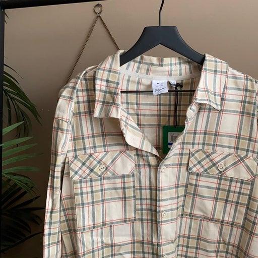 Puma x Big Sean Button up Plaid Flannel
