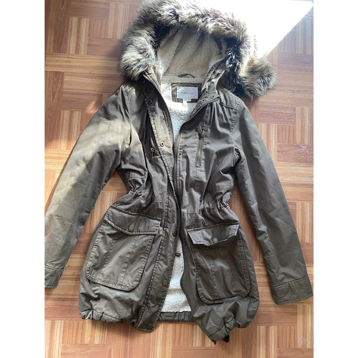 BCBGeneration parka jacket