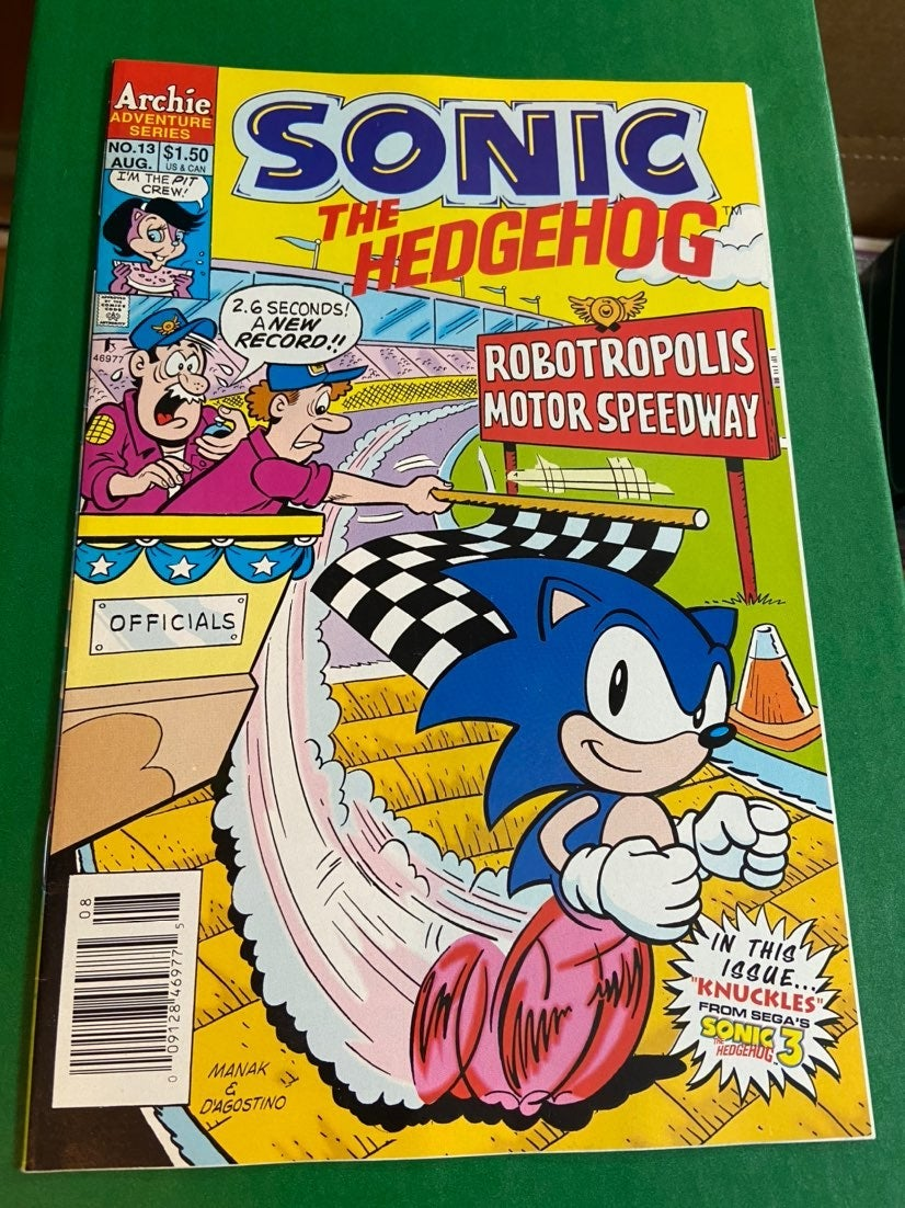 Sonic #13/1st Knuckles/Key Book/Archie
