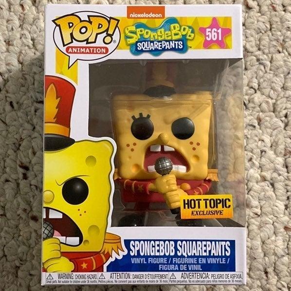 Funko Pop Spongebob Hot Topic EXC