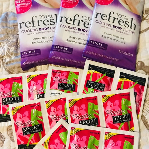 3 new Total Refresh cooling Body Cloths