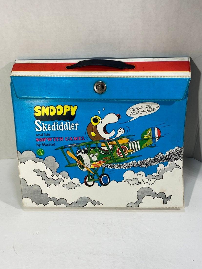1968 Mattel Snoopy Peanuts Skediddler