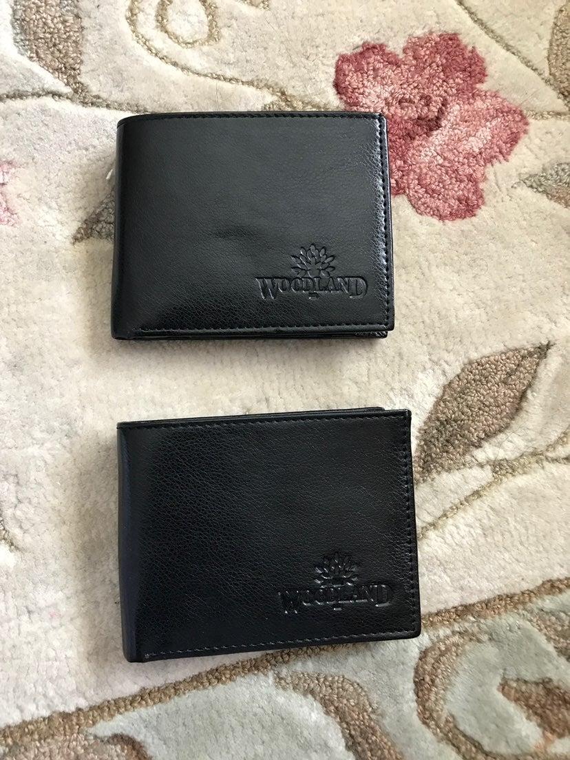 Bundle of 2 WoodLand Leather Wallets
