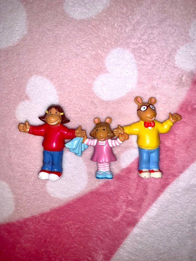 Vintage Arthur PBS Figures