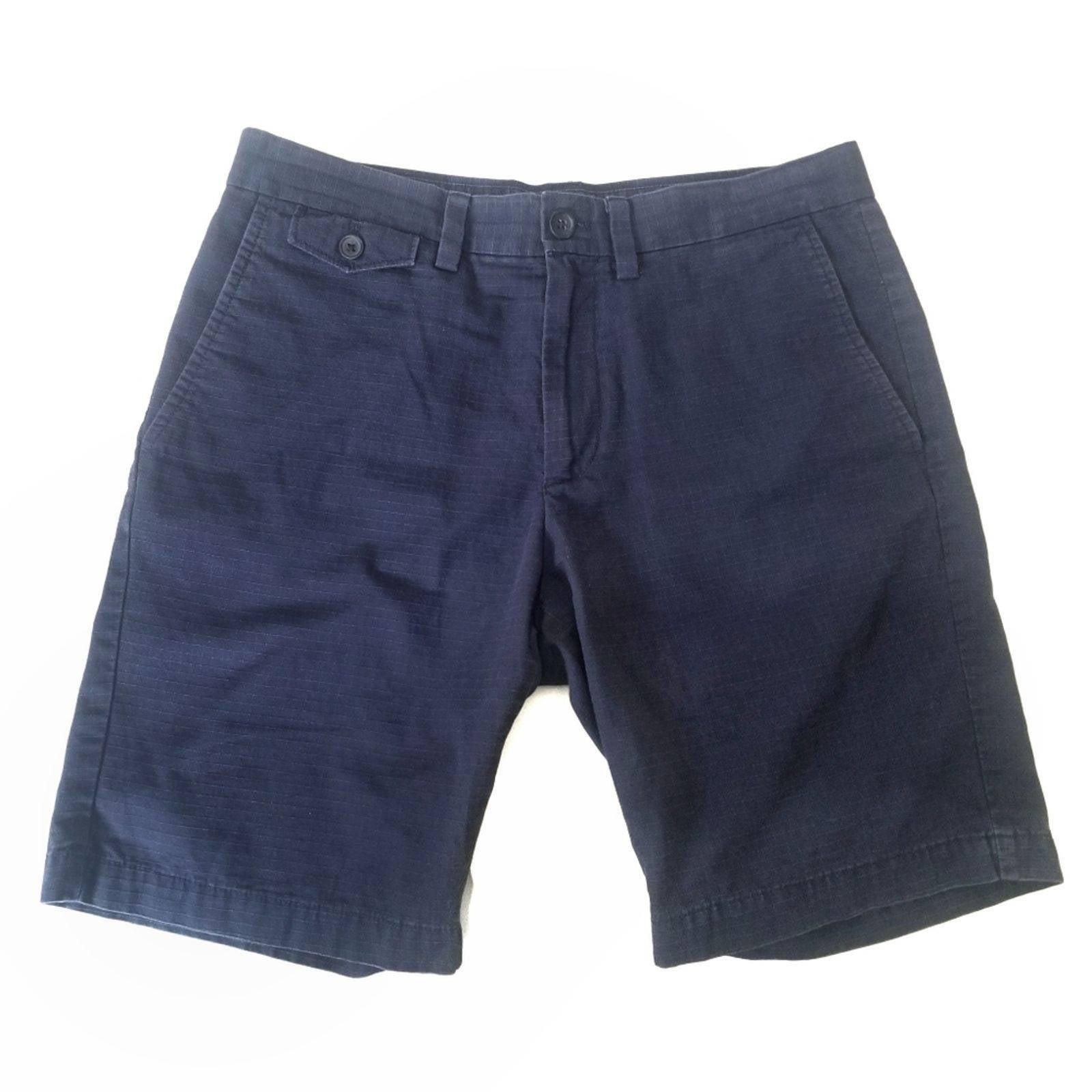 Ripstop Slim Textured Shorts