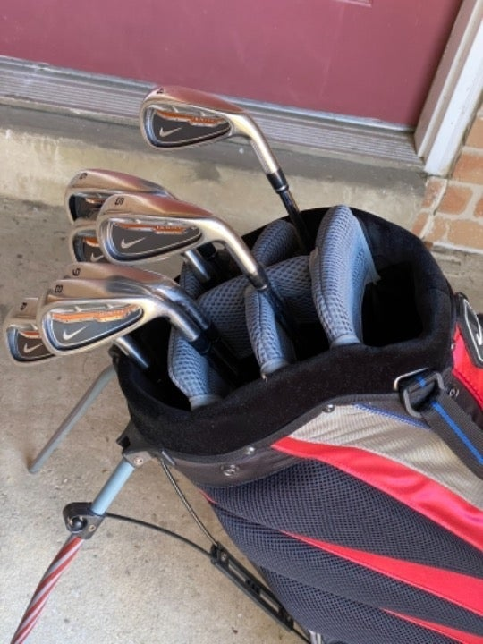 Nike Iron Set 4-PW and Nike Stand Golf B